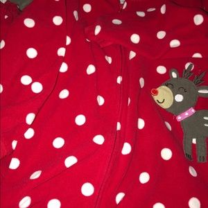 Carter's Christmas Footed Pajamas, Size 4T